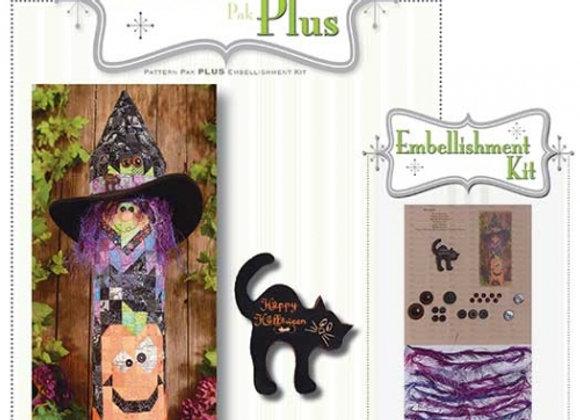 Happy Hallow Designs - Witch N Pumpkins Post Pattern Pak Plus