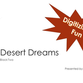 Digitizing Class Desert Dreams - Block Two Owl
