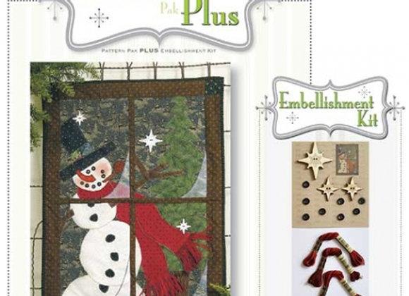 Happy Hallow Designs - In the Meadow Window Pane Pattern Pak Plus