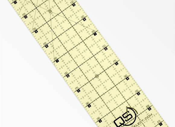 "Quilters Select Non Slip Ruler 3""x12"""