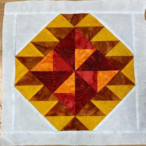 2021 Mystery Quilt - Block Five Navajo Rug