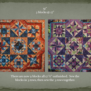Betty's 2020 Mystery Quilt Block Challenge - Setting Blocks