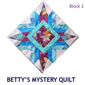 2019 Mystery Quilt Block Challenge - Block Two