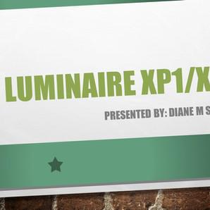 Luminaire XP1/XP2 Presentation 3-17-2021