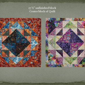 Betty's 2020 Mystery Quilt Challenge - Block Nine