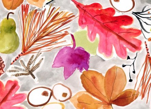 Dear Stella Fabric - Spice Things Up Fall Foliage