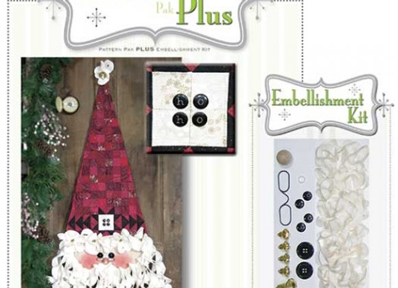 Happy Hallow Designs - Neck Tie Santa Pattern Pack Plus
