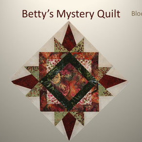 2019 Mystery Quilt Block Challenge - Block Four
