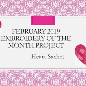 February 2019 Embroider of the Month Project