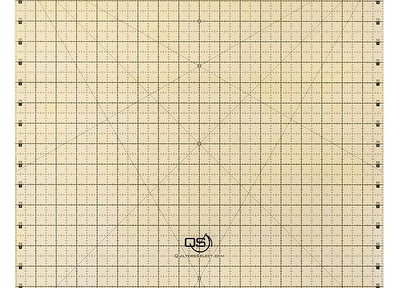 """Quilters Select Non Slip Ruler 18""""x18"""""""