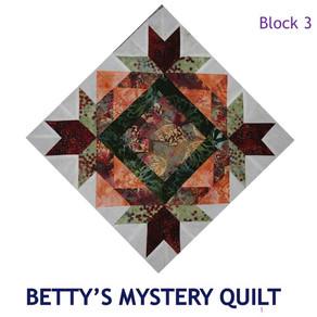 2019 Mystery Quilt Block Challenge - Block Three