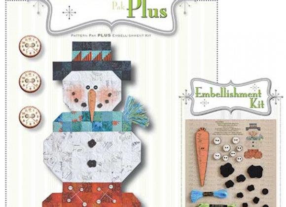 Happy Hallow Designs - Roly Poly Snowman Pattern Pak Plus