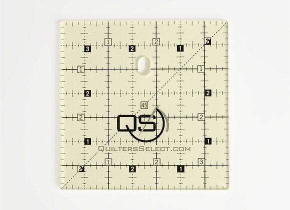 """Quilters Select Non Slip Ruler 3.5""""x3.5"""""""