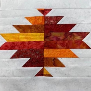 2021 Mystery Quilt Block One Aztec Trials  - Video Demonstration