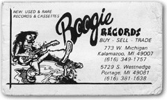 Boogie Records in Kalamazoo