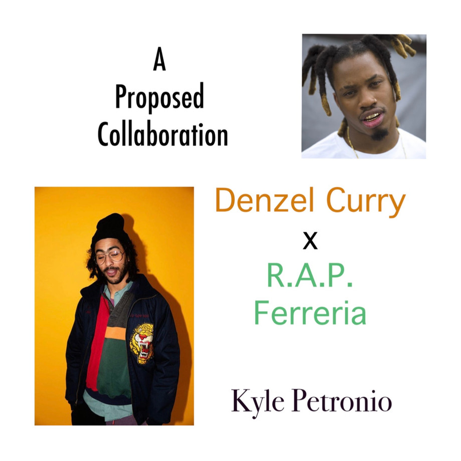 A Proposed Collaboration Between Two Rappers