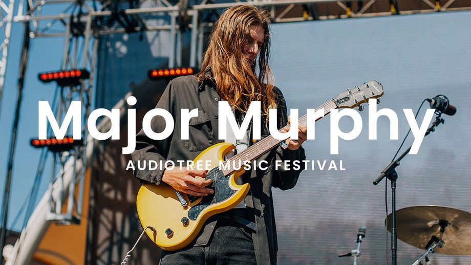 Major Murphy Interview at the Audiotree Music Festival