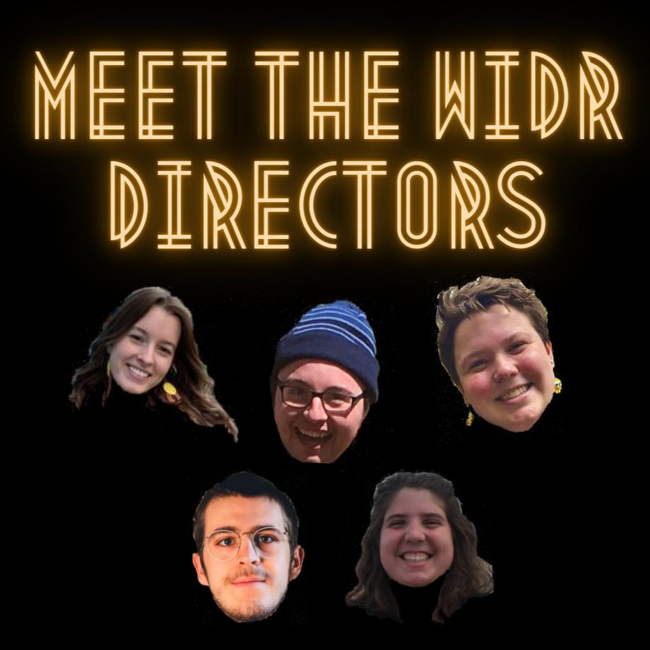 Meet The WIDR Directors!