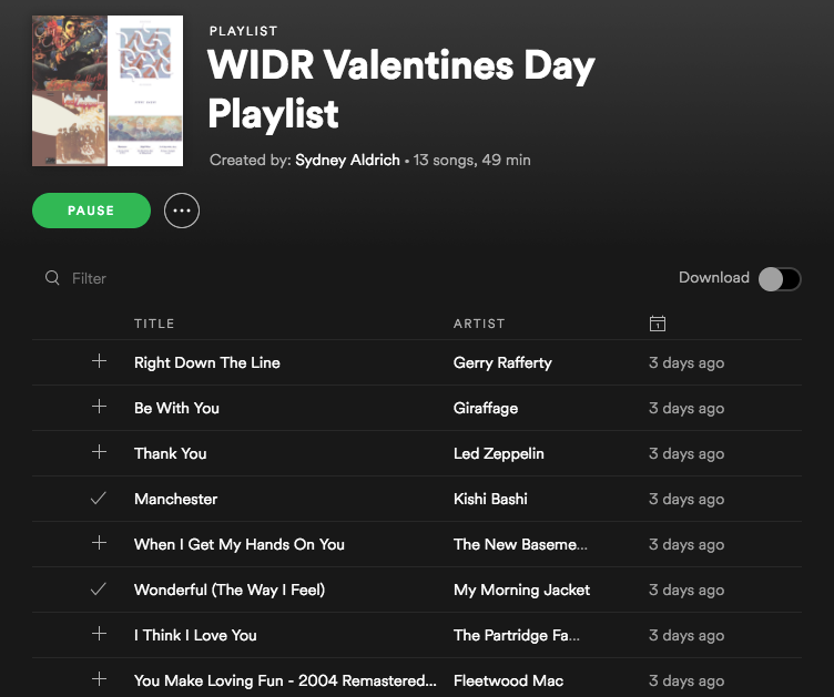 Valentines Day Mix