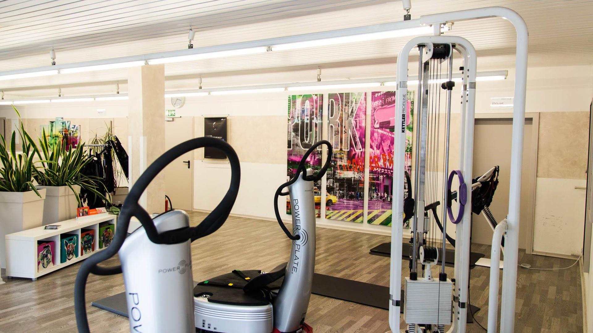 Fitnesstraining an Geräten
