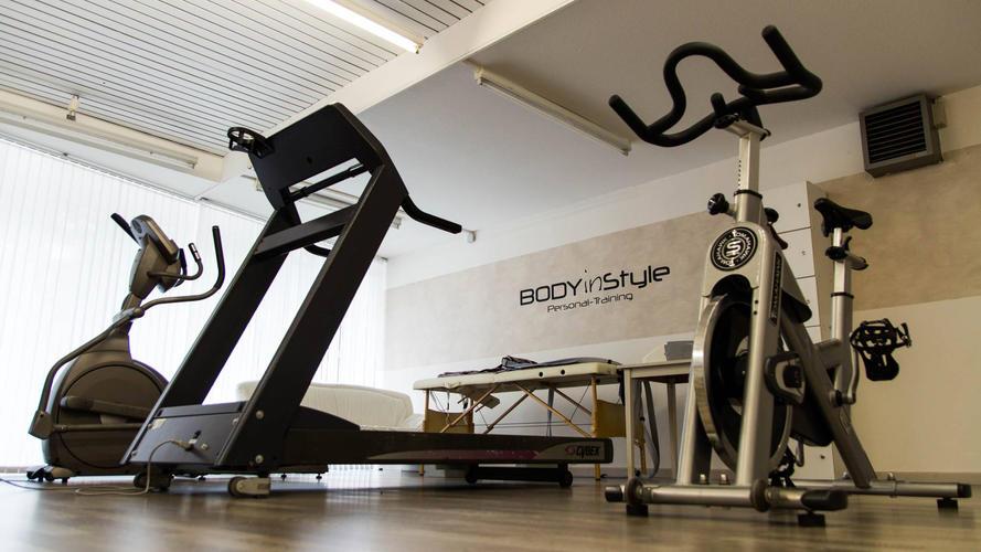Cardiobereich im Gym