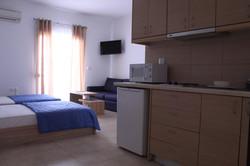Twin Bed Studio | Krinis Apartments