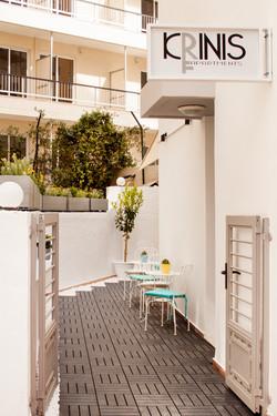 Entrance | Krinis Apartments