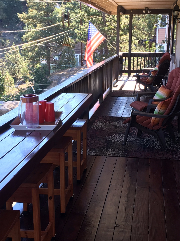Deck bar/seating