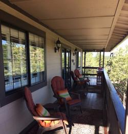 Front deck/patio