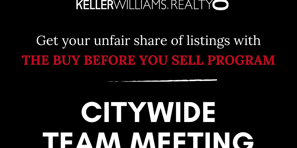 Getting listings with the buy before you sell
