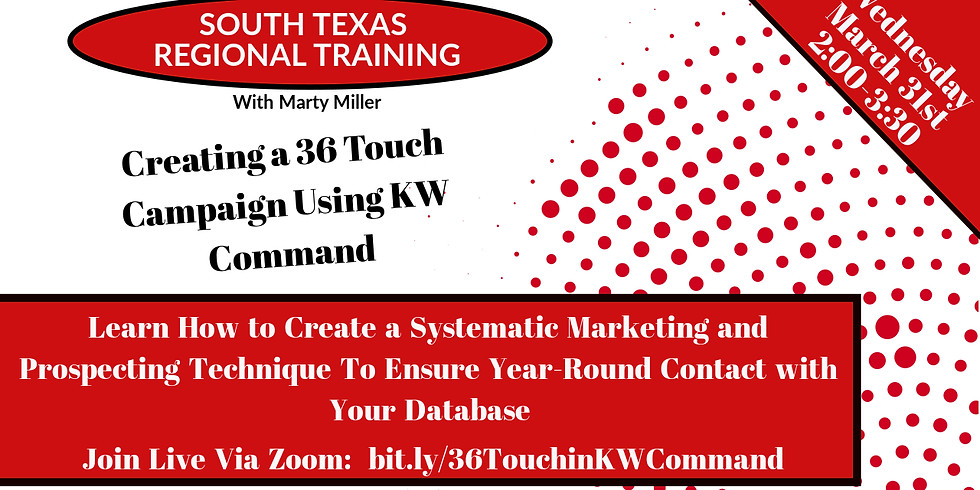 Building a 36 Touch Campaign in KW Command