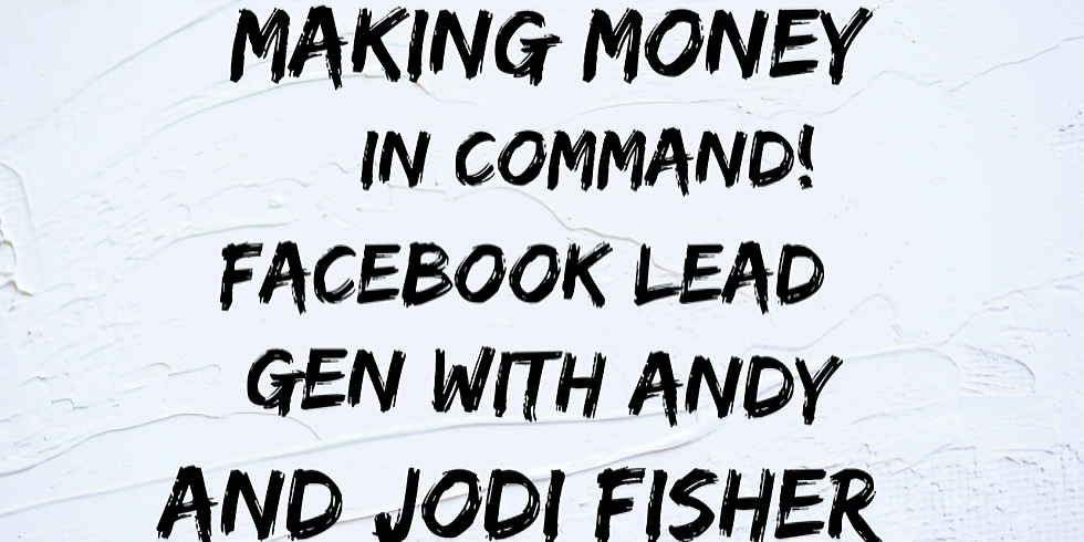 Make Money with Command with Andy and Jodi Fisher