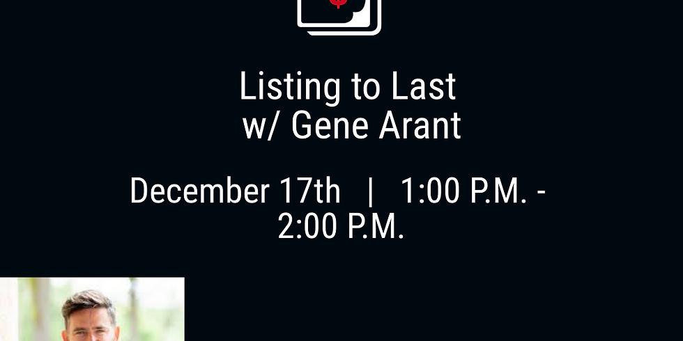 List to Last with Gene Arant