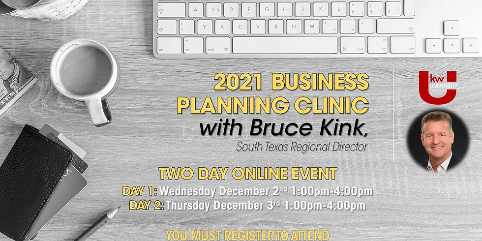 DAY 1- 2021 MREA Business Planning Clinic