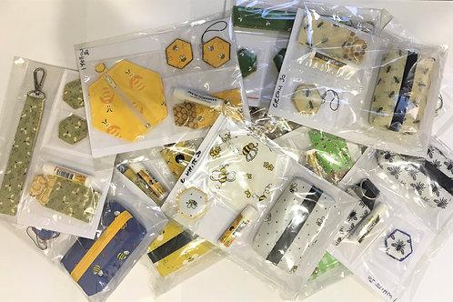 Assorted Handmade Fabric Gift packs