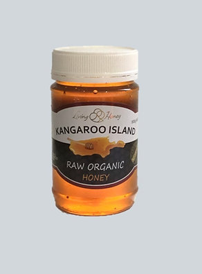 500g Raw Certified Organic Honey