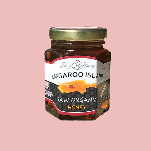 140g Raw Certified Organic Honey