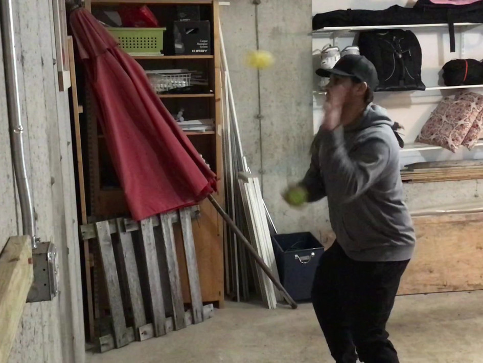 Wall Ball Juggle