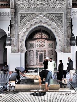 before the prayer