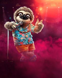 Masked Singer S2 Sloth