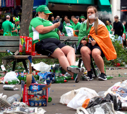 Irish Soccer Fans