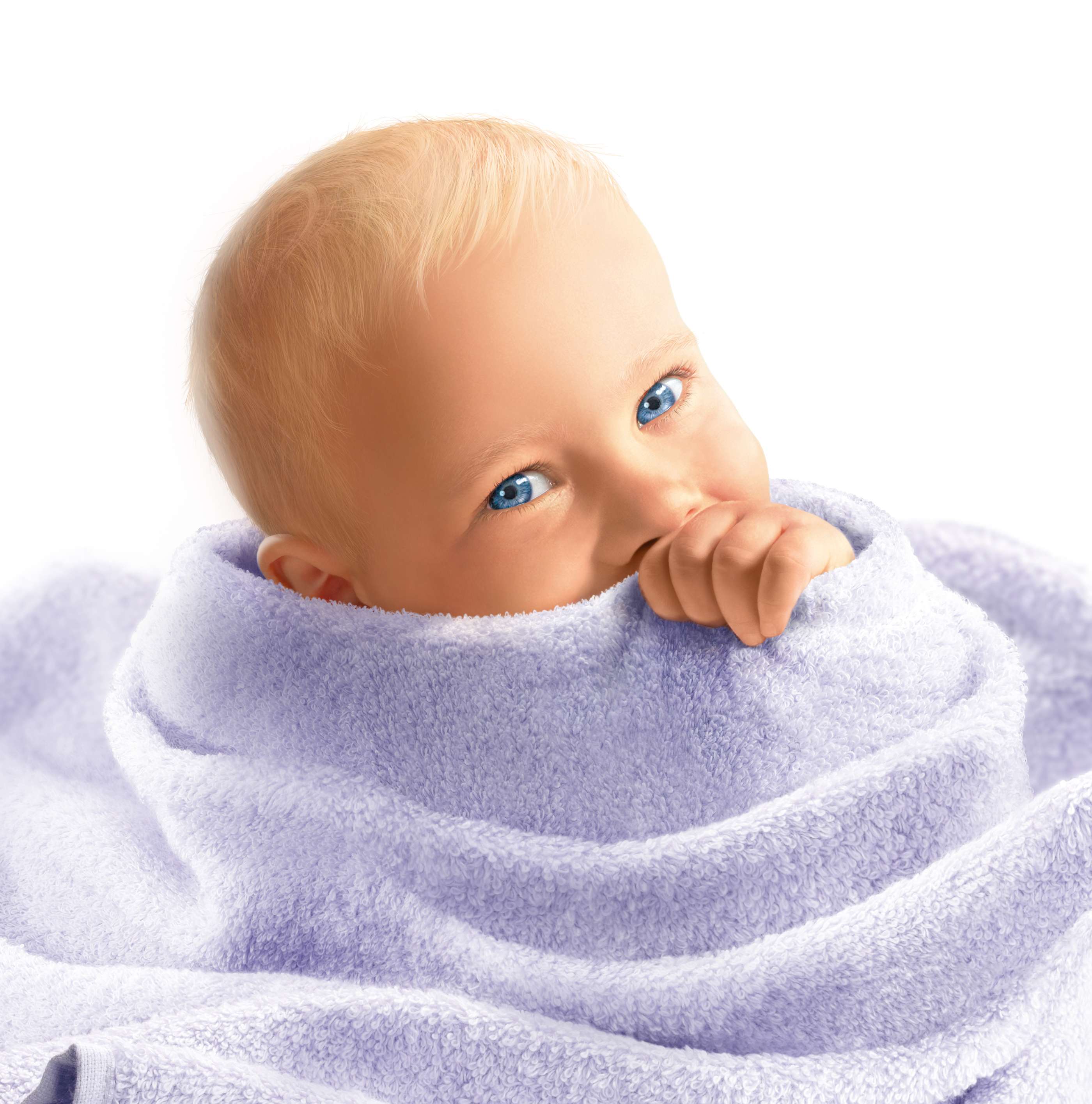 Baby in Towels