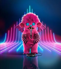 Masked Singer S1 Pink Monster