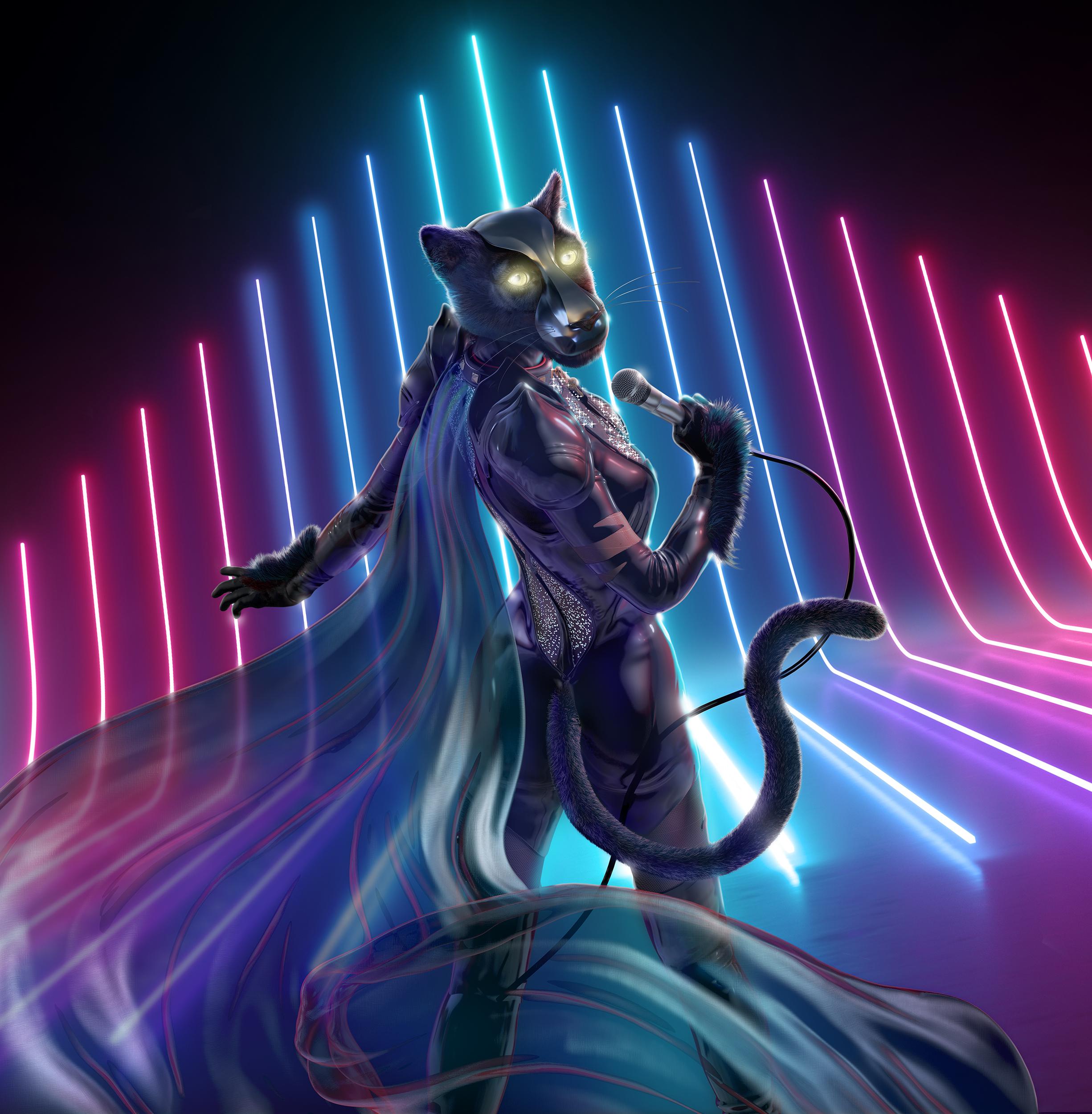 Masked Singer S1 PantherGirl