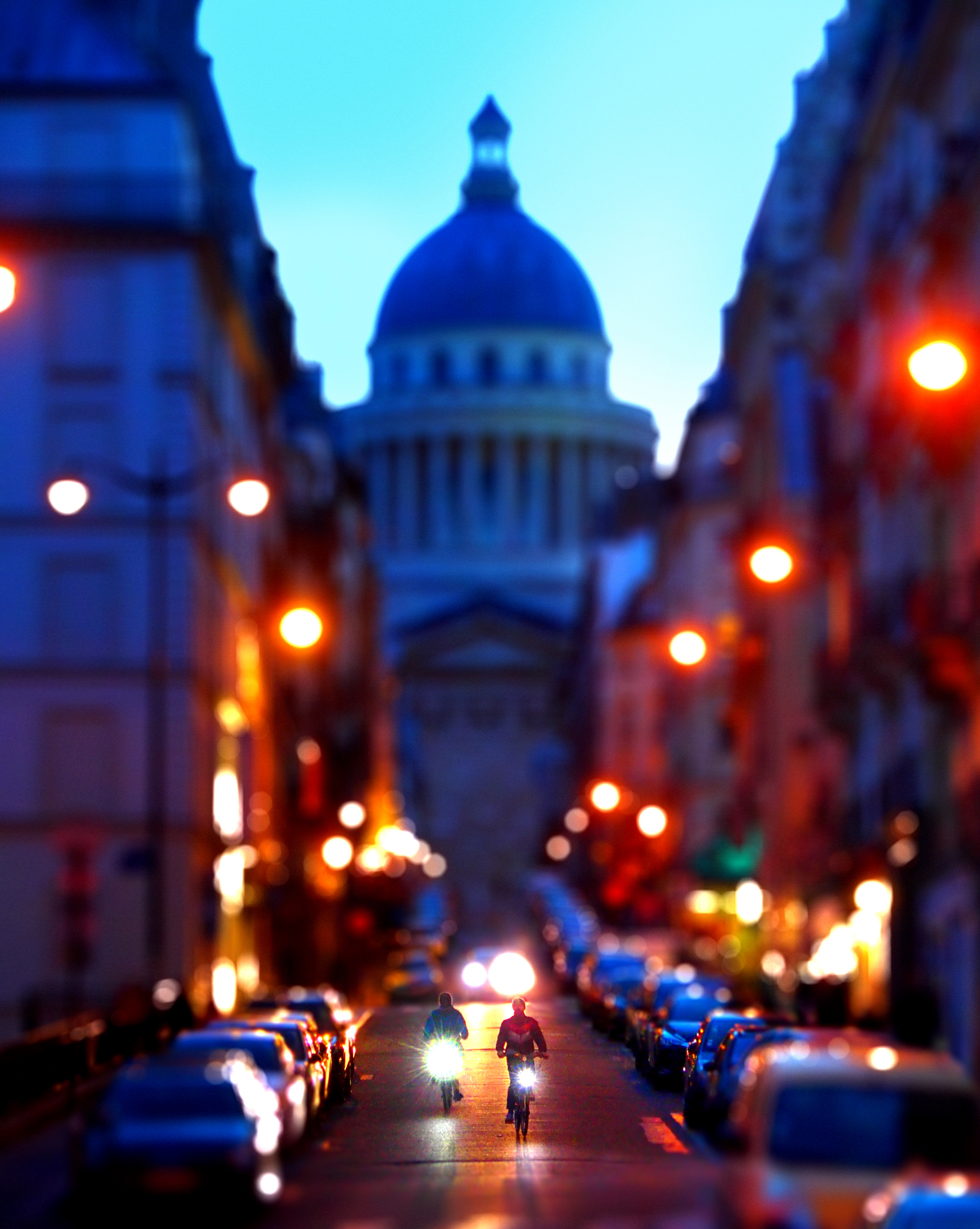 Panthéon at dawn