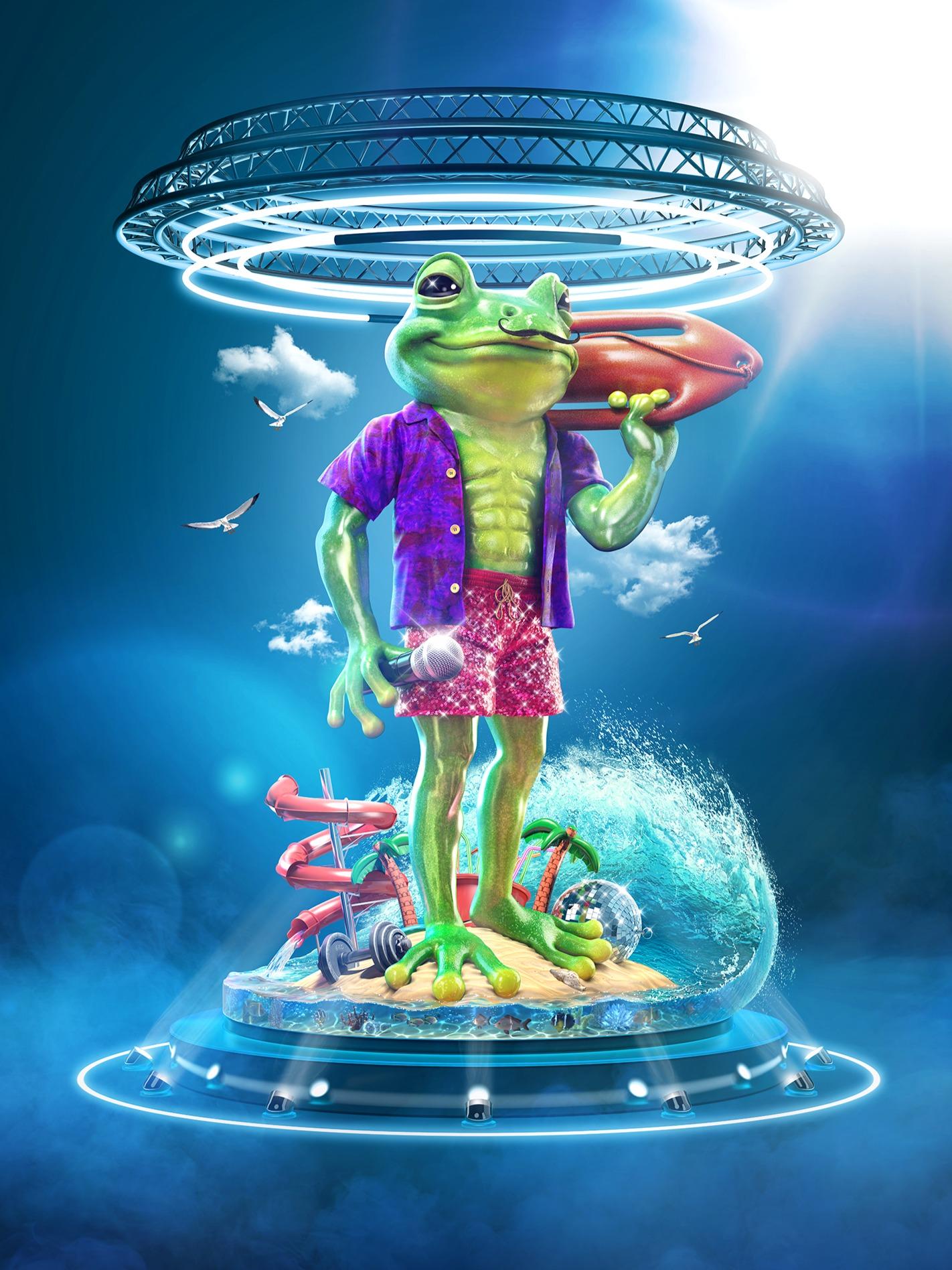 Masked Singer S3 Frog