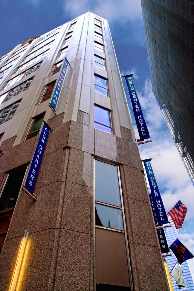 World Center hotel Club Quarters NY Bill