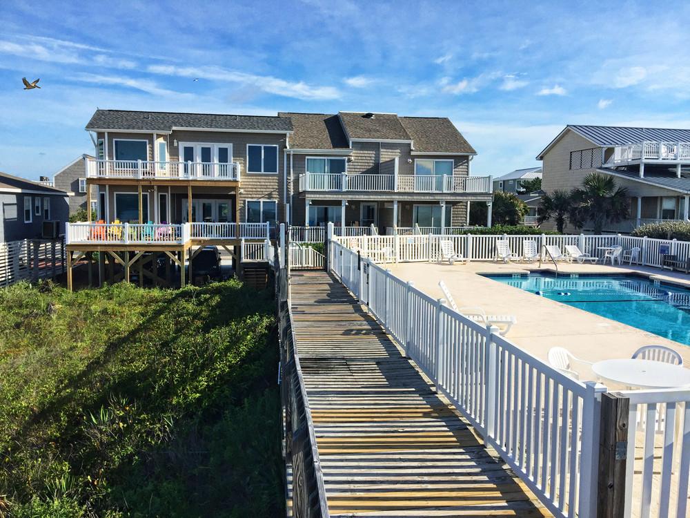 Ari Bb Ocean Isle NC Back with pool and