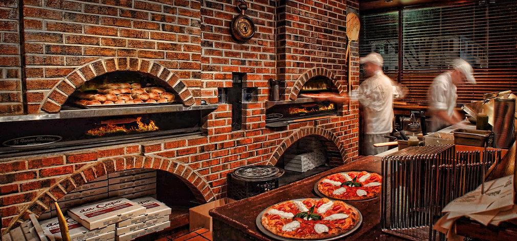 Pizza baking DeCapo Avon CT  Bill Crofto