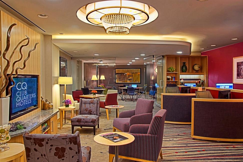 Club Quarters Hotel NY lobby 3 Bill Crof